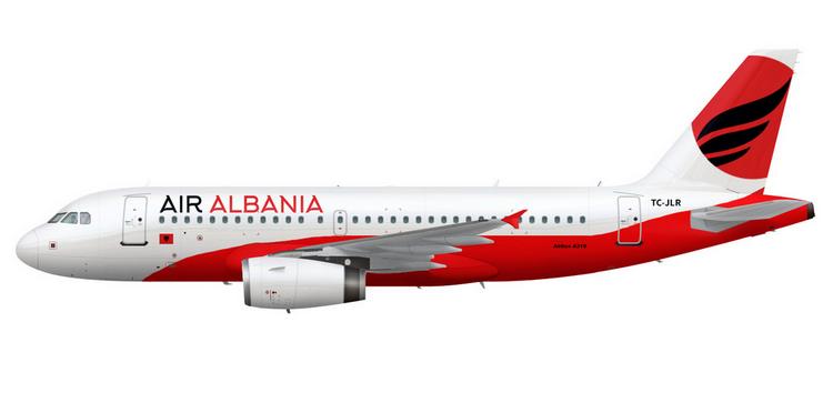 air albania самолет